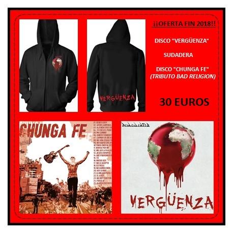 Sudadera + Verguenza